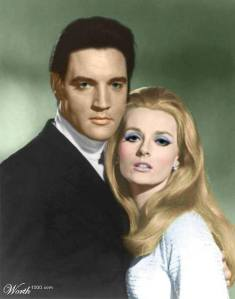 """Celeste co-stars opposite Elvis in the feature film, """"Live a Little Love a Little'"""